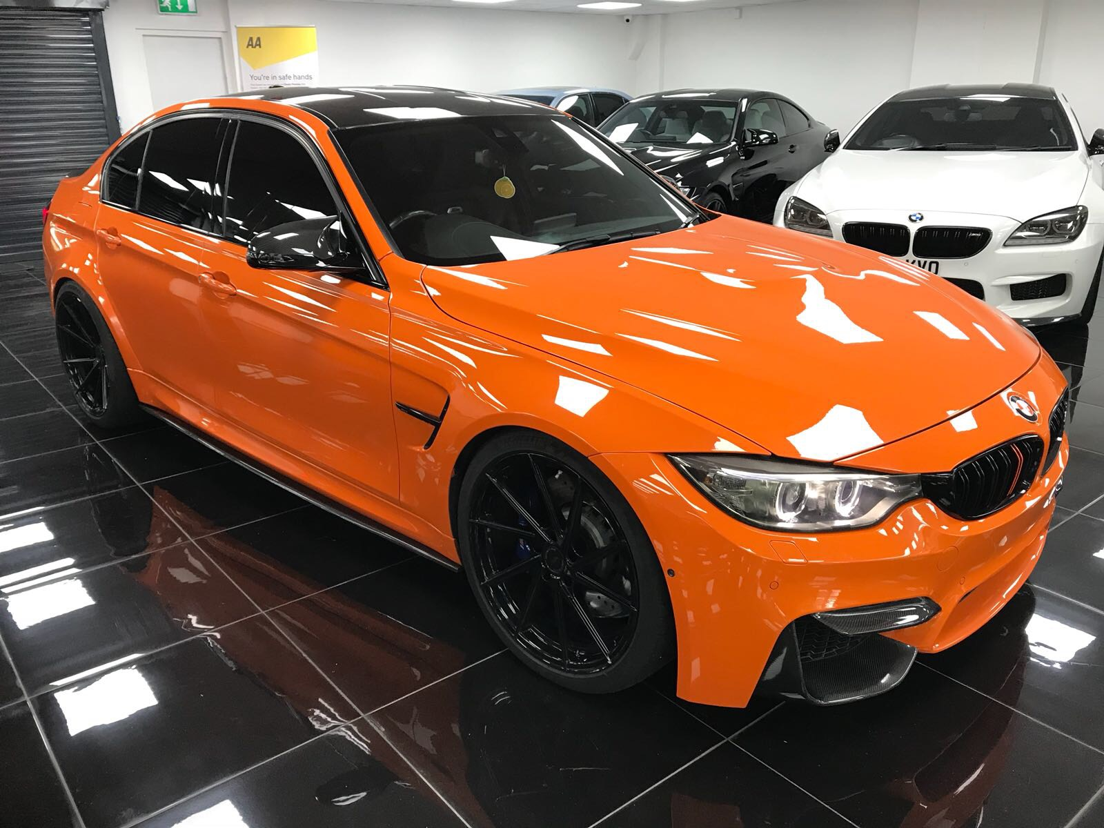 Sold 2015 65 Bmw M3 F80 Dct Fire Orange Tej S Specialist Cars
