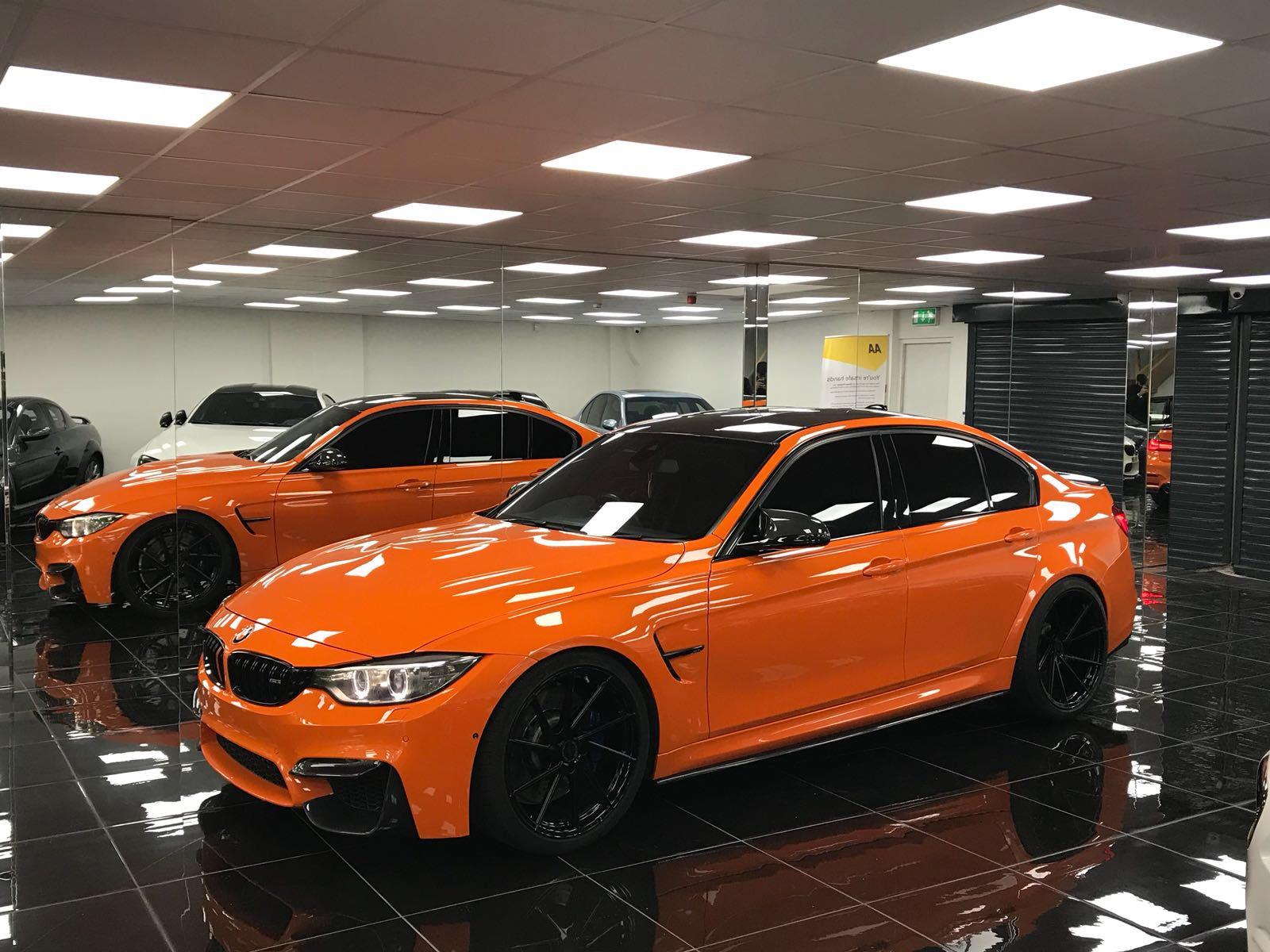 2015 (65) BMW M3 F80 DCT Fire Orange - Tej's Specialist Cars